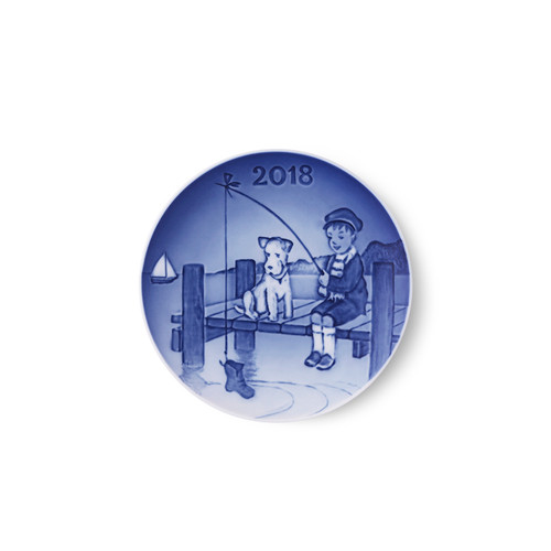 2018 Bing and Grondahl Children's Day Plate, available at The Nordic Shop