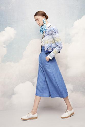 Annika Oleana Short Cardigan, 342F, Light Blue
