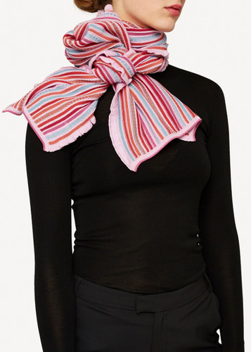 Columbine Oleana Shawl, 346V Pinks
