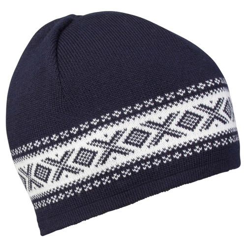 Dale of Norway, Cortina Merino Hat in Navy/Off White, 48211-C