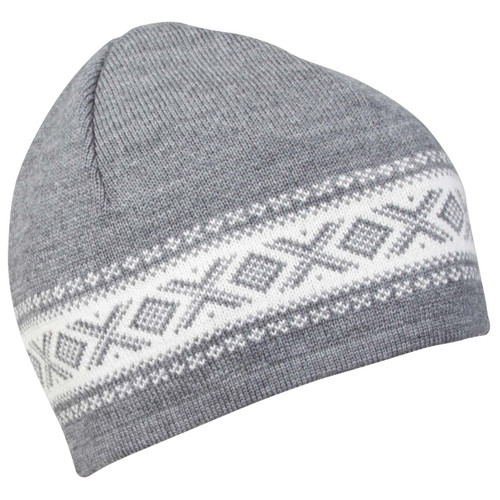 Dale of Norway, Cortina Merino Hat in Smoke/Off White, 48211-E