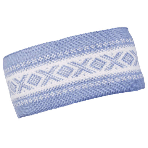 Dale of Norway Cortina Merino headband, Blue Shadow/Off-White, 26021-D