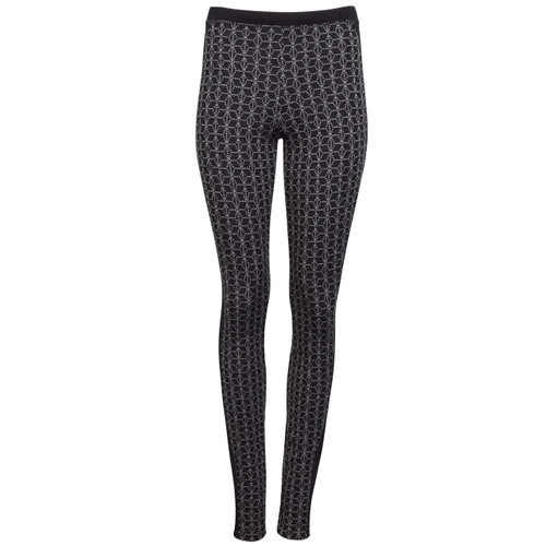 Dale of Norway Stjerne Basic Leggings, Ladies, in Black/White, 62021-F