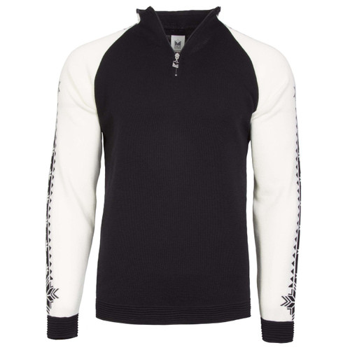 Dale of Norway Geilo Pullover, Mens, in Black/Off White, 82321-F