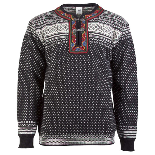 Dale of Norway New Setesdal Pullover - Black/Off White, 93781-F
