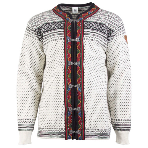 Dale of Norway New Setesdal Cardigan - Off White/Black, 83291-A