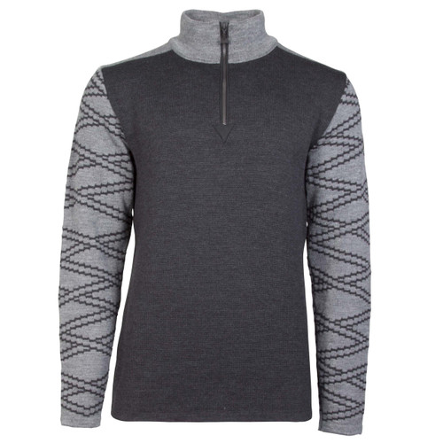 Dale of Norway Balder Pullover, Mens, in Dark Charcoal/Smoke, 93671-E