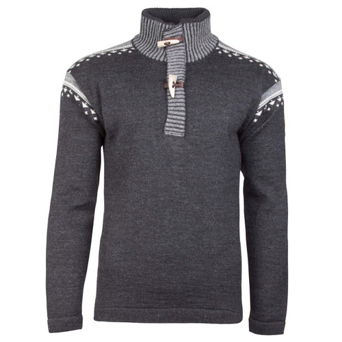 Dale of Norway Skog Sweater, Mens, in Dark Charcoal/Off White/Smoke, 93571-E