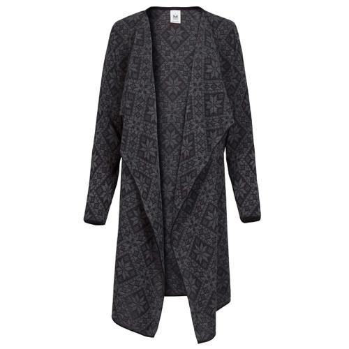 Dale of Norway Flora Jacket, Ladies - Black/Smoke, 83371-F