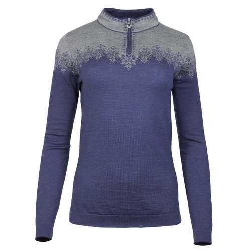 Dale of Norway, Snefrid Sweater, Ladies, in Electric Storm/Smoke, 93431-H