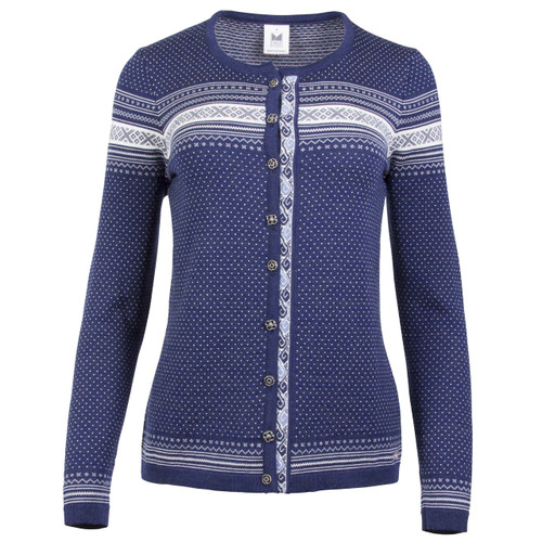 Dale of Norway, Hedda Cardigan, Ladies, in Electric Storm/Off White/Blue Shadow, 83401-H