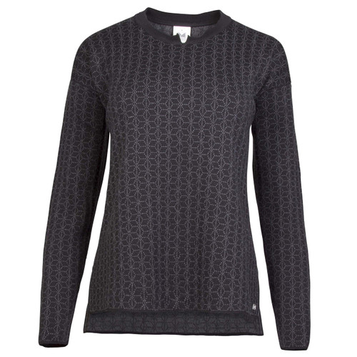 Dale of Norway Stjerne Sweater, Ladies, in Black/Dark Charcoal, 93761-F