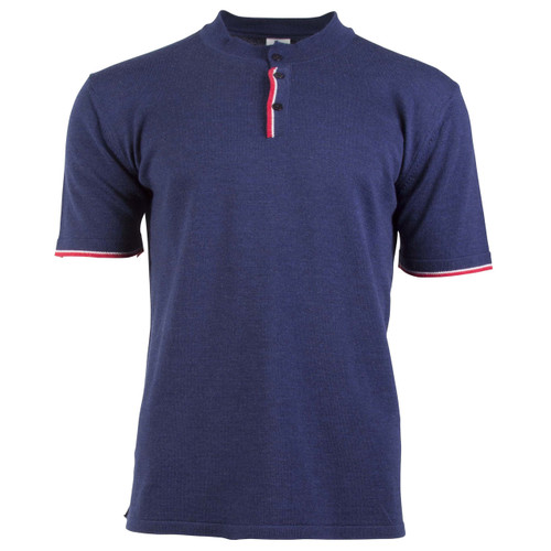 Dale of Norway Fredrik T-shirt, Mens - Navy/Off White Mel/Raspberry, 93771-C