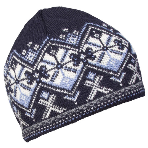 Dale of Norway Geiranger Hat - Navy/Off White/Blue Shadow, 48151-C
