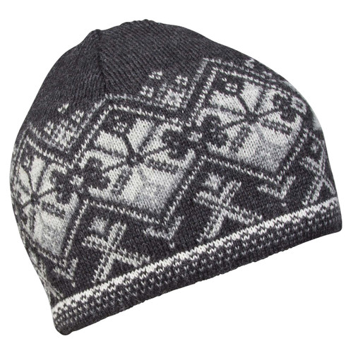 Dale of Norway Geiranger Hat - Dark Charcoal/Off White/Smoke, 48151-E