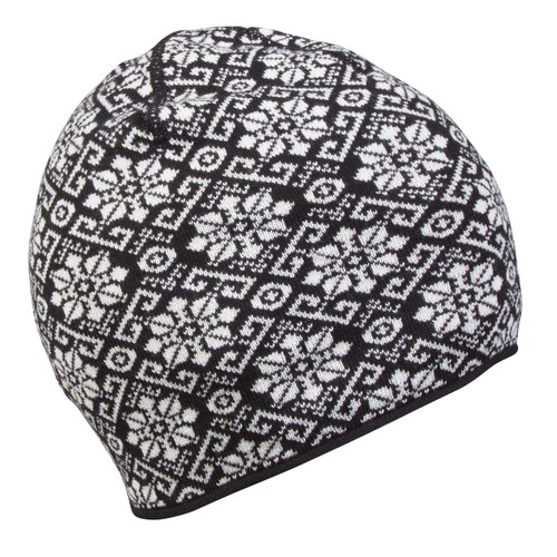 Dale of Norway Sonja Hat - Black/Off White Mel, 48161-J