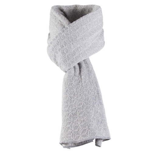 Dale of Norway, Stjerne Scarf in Light Grey Mel/Off White Mel, 11671-F