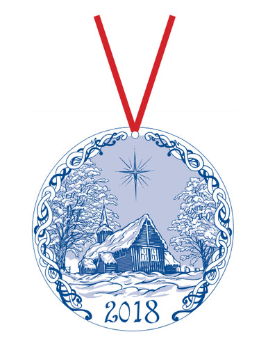 2018 Stav Church Ornament Kvernes