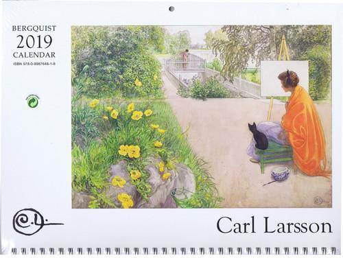 2019 Carl Larsson Calendar Front Image