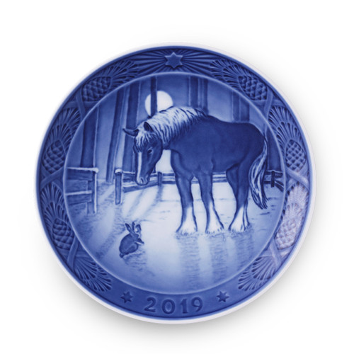 2019 Royal Copenhagen Christmas Plate, available now at The Nordic Shop!