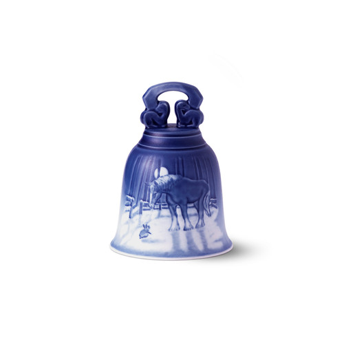 2019 Royal Copenhagen Christmas Bell, available at The Nordic Shop