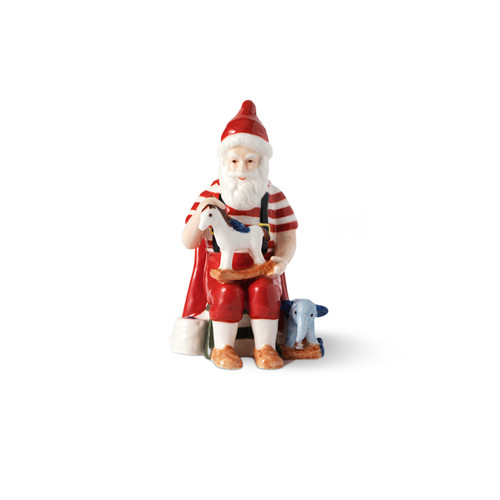 2019 Royal Copenhagen Annual Santa Figurine, available at The Nordic Shop.