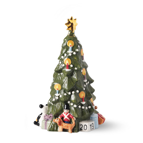 2019 Royal Copenhagen Annual Christmas Tree, available at The Nordic Shop.