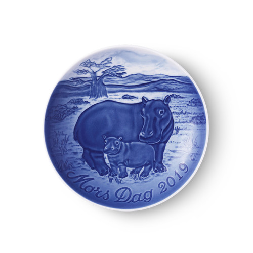 2019 Bing and Grondahl Mother's Day Plate, available at The Nordic Shop.