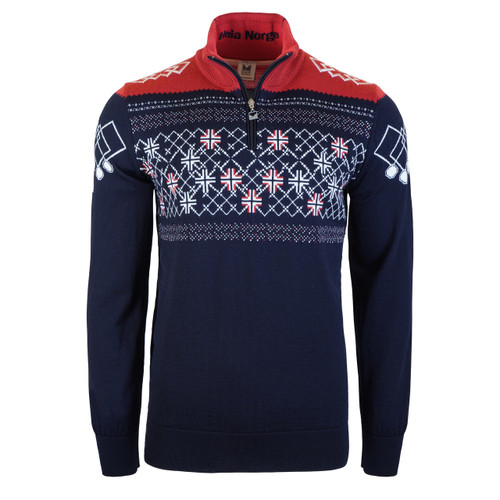 Dale of Norway Mens Podium Pullover Special Edition Sweater, 94211C
