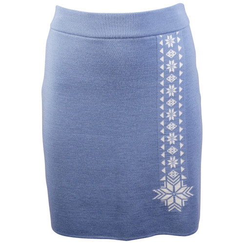 Dale of Norway Geilo Skirt in Blue Shadow, 62041-D