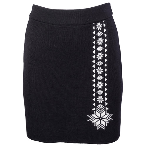 Dale of Norway Geilo Skirt in Black, 62041-F