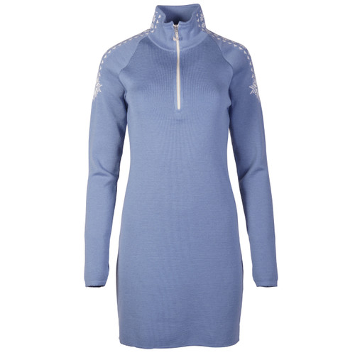 Dale of Norway Geilo Dress in Blue Shadow, 65100-D