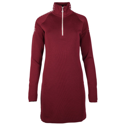 Dale of Norway Geilo Dress in Ruby Melange, 65100-V