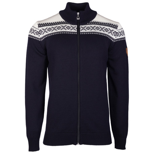 4ca1d456 Dale of Norway Cortina Merino Cardigan, Men's - Navy/Off-White, 83321-C