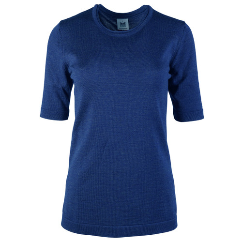Dale of Norway Stjerne Ladies T-shirt, in Electric Storm, 93741-H