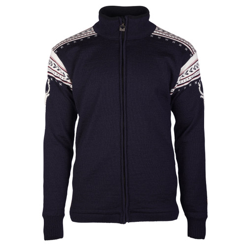 Dale of Norway Hjort Windstopper, Mens - Navy/Off White/Red Rose, 82531-C