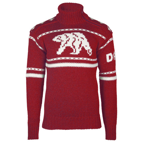 Dale of Norway Isbjørn Sweater - Ruby Red/Off White, 94051-B