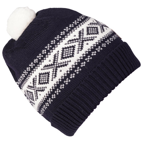 Dale of Norway Cortina Kids Hat 4-8, Navy/Off White, 43341-C