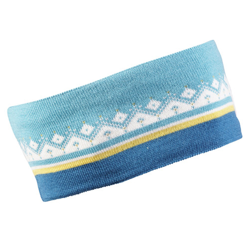 Dale of Norway Moritz Headband - Arctic Blue/Sweethoney/Off White/Turquoise, 26091-G