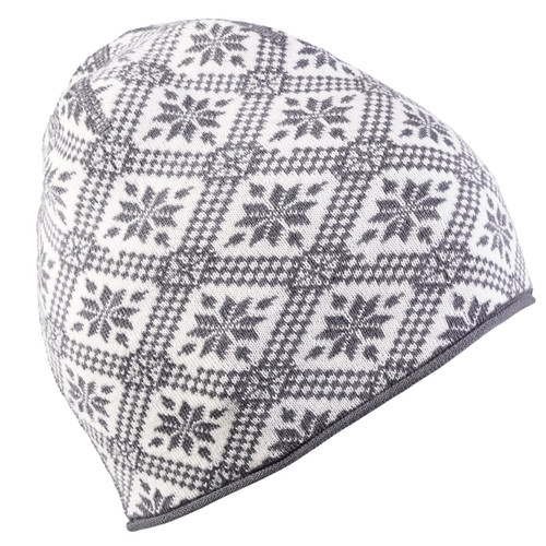 Dale of Norway Christiania Hat - Schiefer/Off White, 48701-E