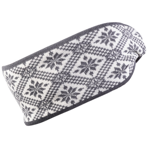 Dale of Norway Christiania Headband - Schiefer/Off White, 26701-E