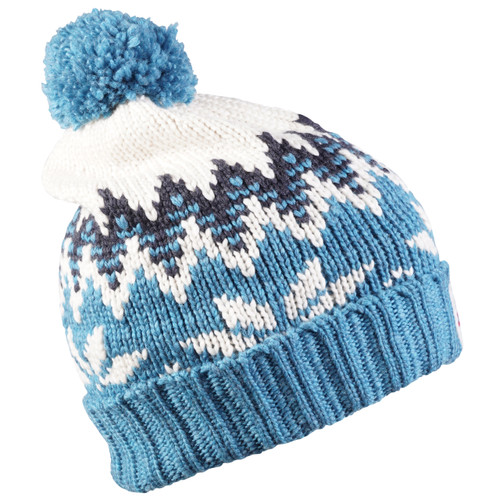 Dale of Norway Myking hat - Turquoise/Dust Blue/Off White, 48001-G