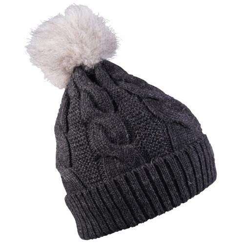Dale of Norway Vilde Hat - Dark Charcoal, 48321-E