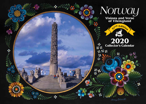 2020 Norway Visions and Verse Calendar - Paulstad
