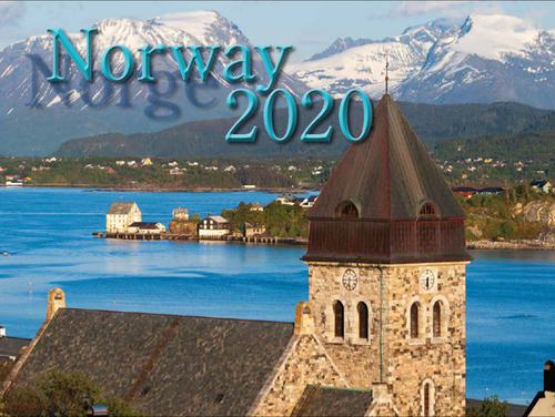 2020 Norway Calendar in Photographs - Nordiskal