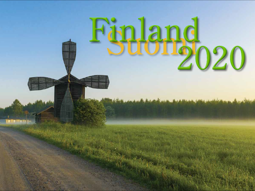 2020 Finland Calendar in Photographs - Nordiskal