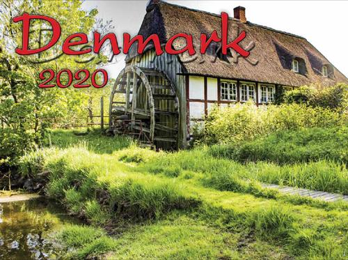 2020 Denmark Calendar in Photographs - Nordiskal