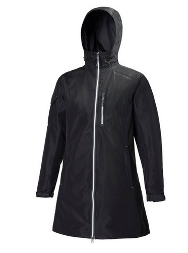 Helly Hansen Long Belfast Jacket, Women's - Black, 55964-990