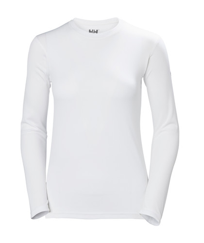 Helly Hansen HH Tech Crew LS, Women's - White, 48374-001
