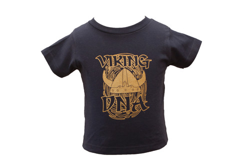 Viking DNA Kids' T-Shirt, Navy